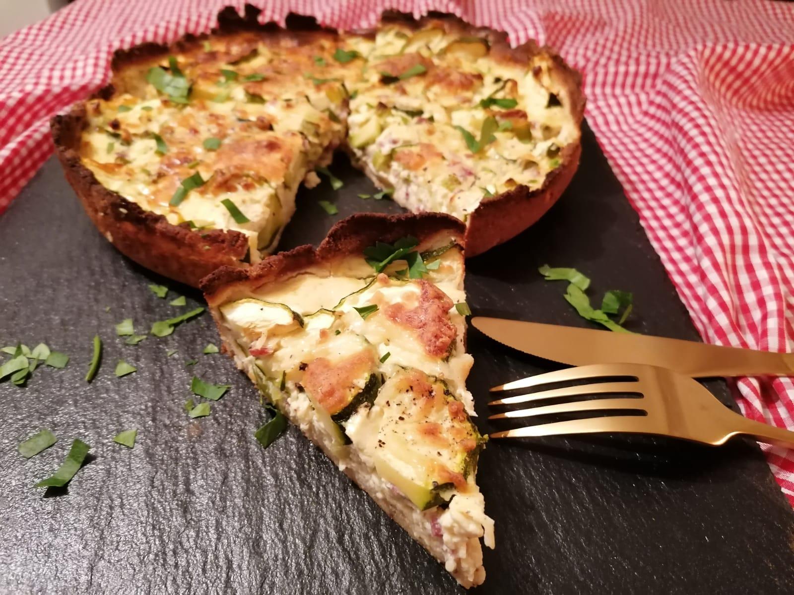 Protein Zucchini Quiche Rezept nachkochen