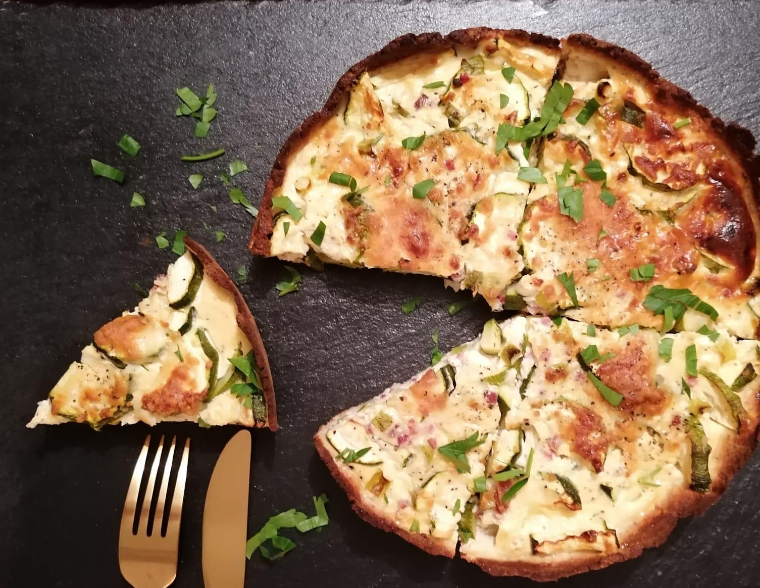 Rezeptbild Protein Zucchini Quiche
