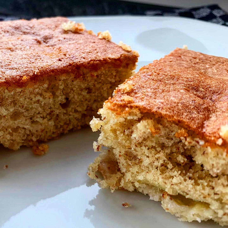 Rezeptbild Protein Mandel Trauben Kuchen