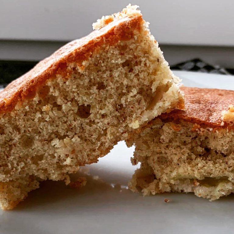 Protein Mandel Trauben Kuchen zubereiten