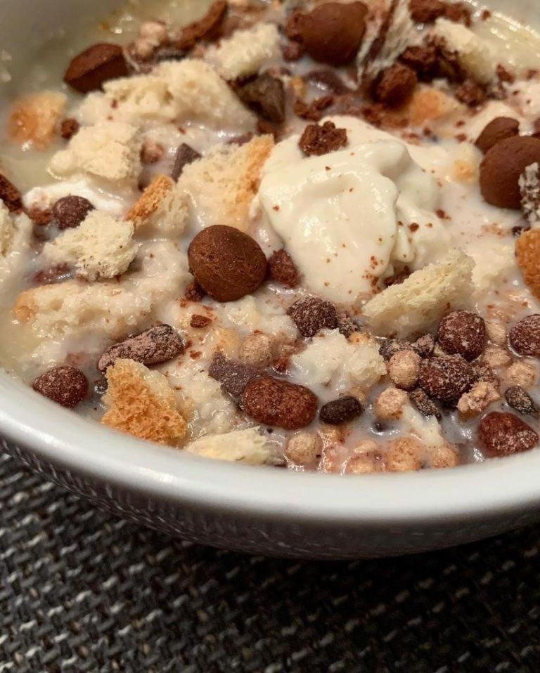 Protein Pudding Bowl zubereiten
