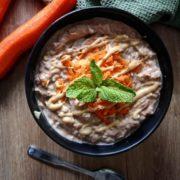 Rezept für Protein Puddingoats mit Karotten