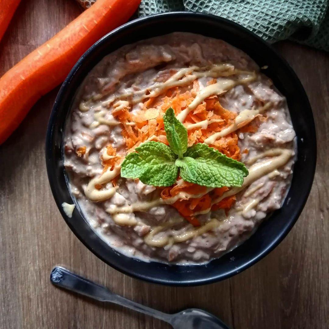Rezeptbild Protein Puddingoats mit Karotten