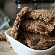 Rezept für Quinoa-Saaten-Cracker