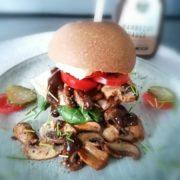 Rezept für Frühstücks Burger mit FeelingOK Sandwich Brötchen