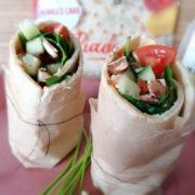 Rezept für Gefüllter FeelingOK Protein Wrap Piadina