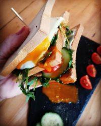 Rezept für Gute Laune Sandwich mit FeelingOK Protein Toast