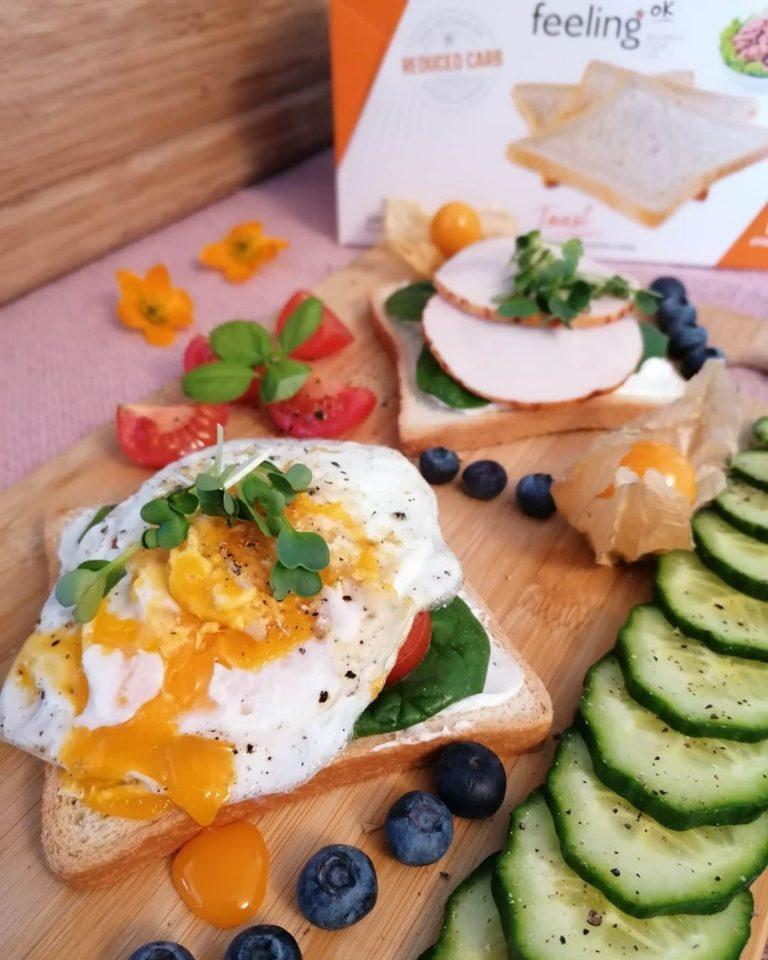 Rezeptbild Hähnchen auf FeelingOK Toast mit Ei