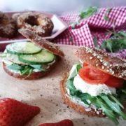 Rezept für Protein Bagels