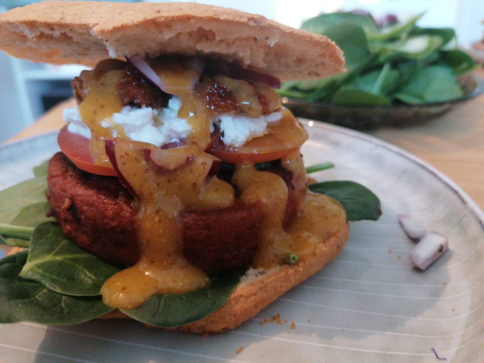 Rezeptbild Protein Burger Buns selbst gemacht