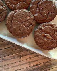 Rezept für Vegane Schoko Cheesecake Muffins