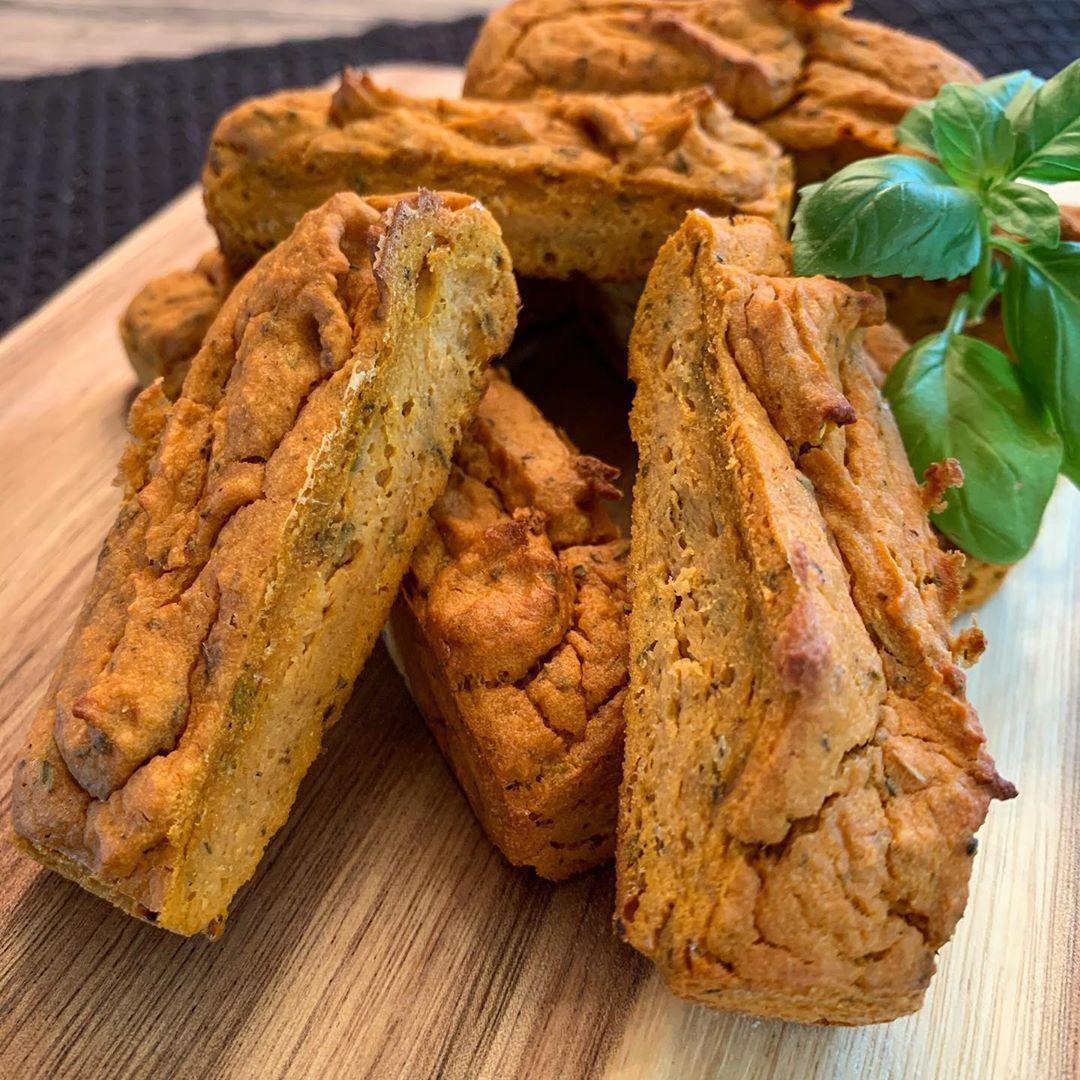Vegane Pizza Snack Riegel Rezept nachkochen