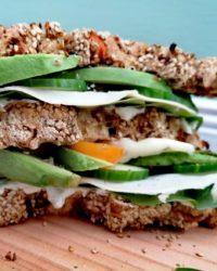 Rezept für Veganes Gemüse Protein Brot