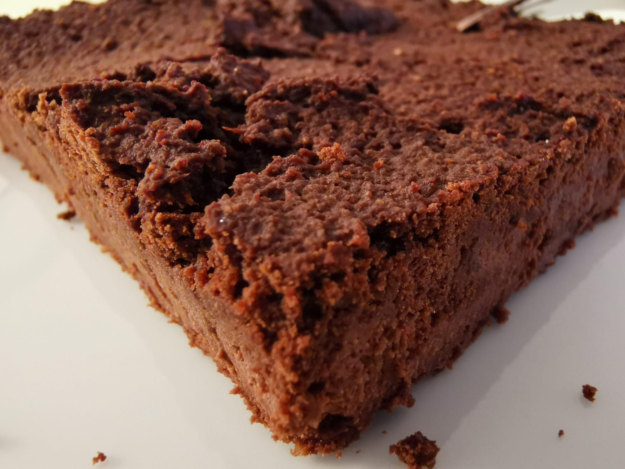 Vegane Schoko Brownies zubereiten