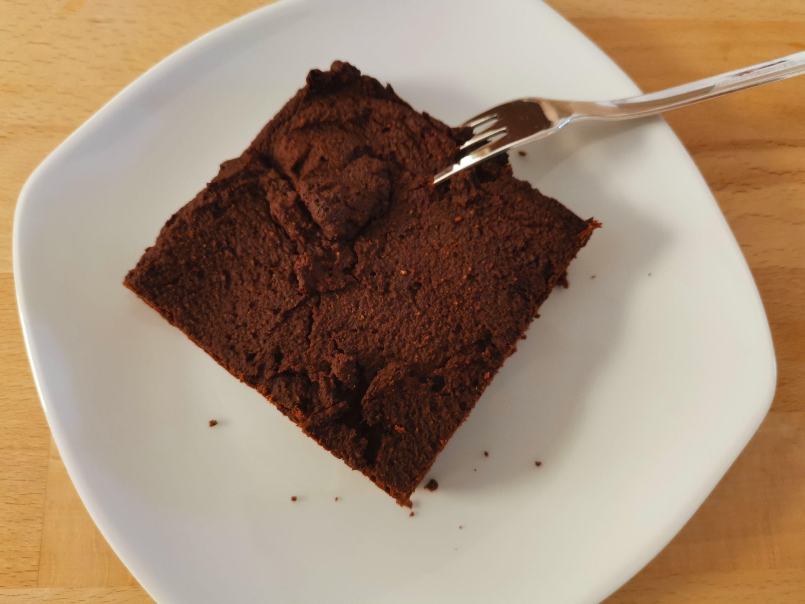 Zubereitung Vegane Schoko Brownies