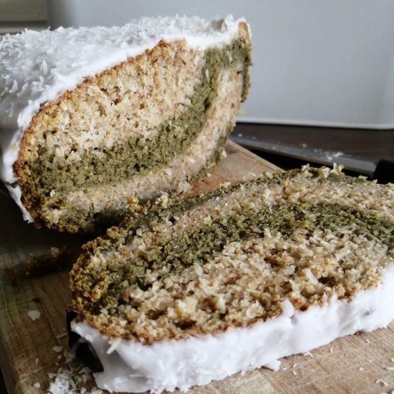 Rezeptbild Kokos Matcha Kuchen