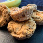 Rezept für Vegane Banane Cheesecake Muffins