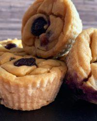 Rezept für Vegane Zitronen Heidelbeere Muffins