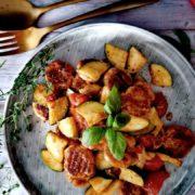Rezept für Protein Gnocchi in Gorgonzolasauce
