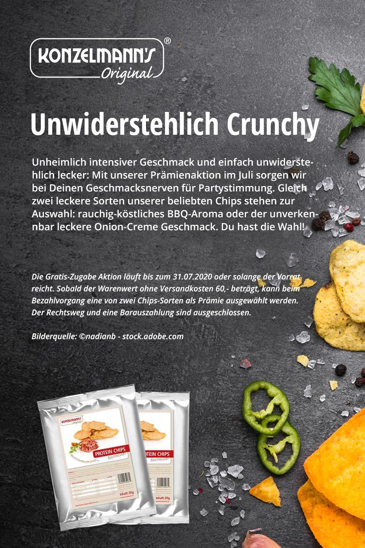 unwiderstehlich crunchy