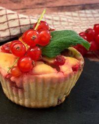 Rezept für Buttermilch Limetten Beeren Muffins
