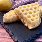 Rezept für Fluffige Protein Zitronen Waffeln