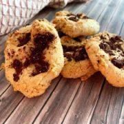 Rezept für Keto Protein Cookies fruchtig