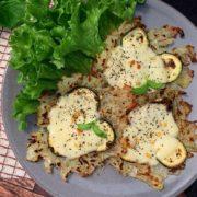 Rezept für Gemüsepuffer mit Mozzarella