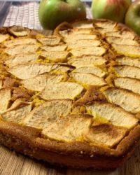 Rezept für Protein Bananen-Apfel-Karrotten Kuchen vegan