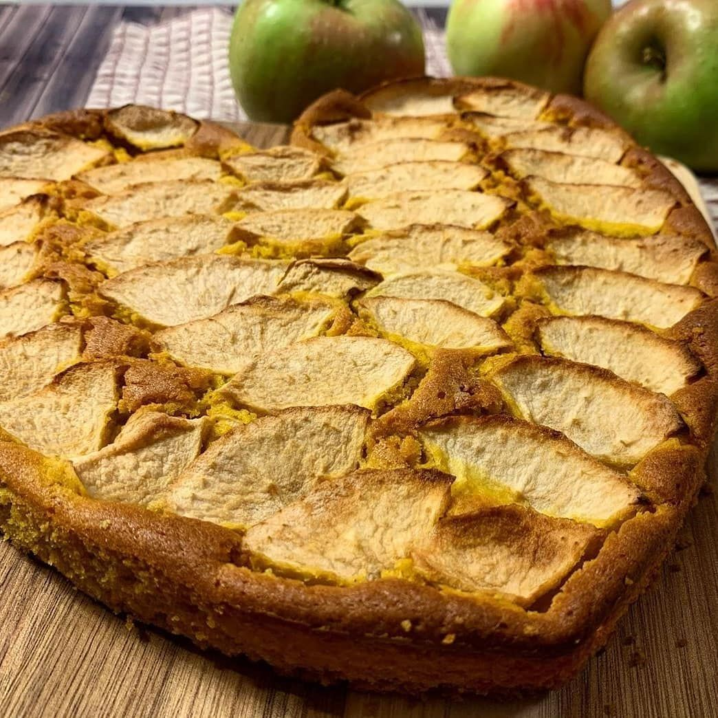 Rezeptbild Protein Bananen-Apfel-Karrotten Kuchen vegan