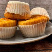Rezept für Protein Muffins im Geleemantel