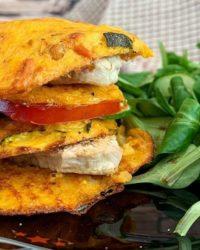 Rezept für Süßlupinenburger Tomato Cheese