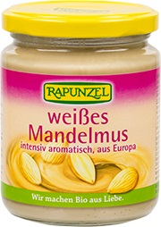 Rapunzel Mandelmus weiss extra fein