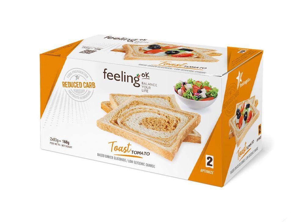 FeelingOK Toast Tomato Optimize 2 160g