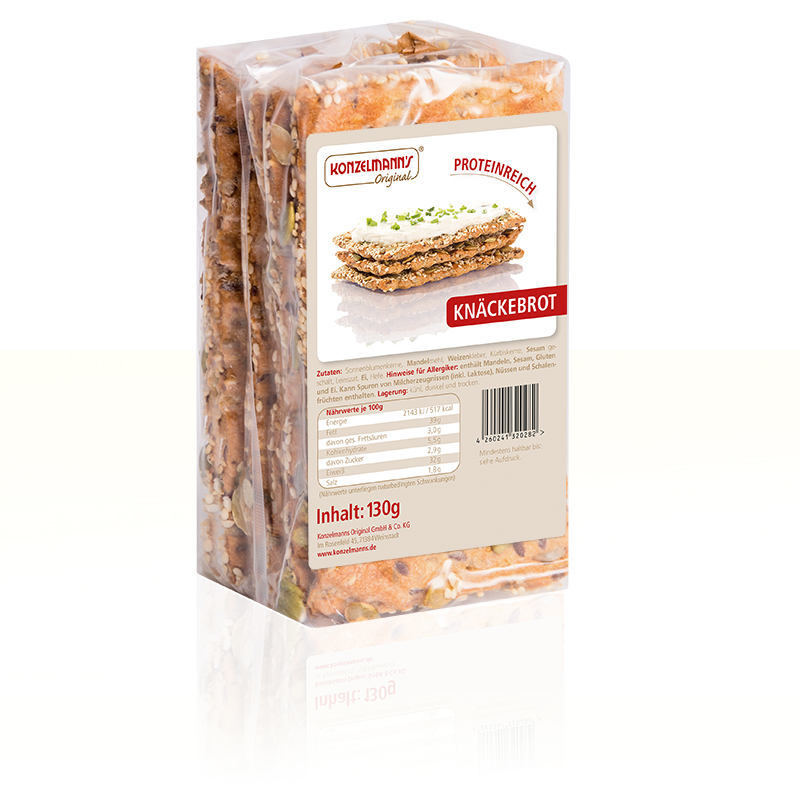 Konzelmanns Knaeckebrot Lower Carb
