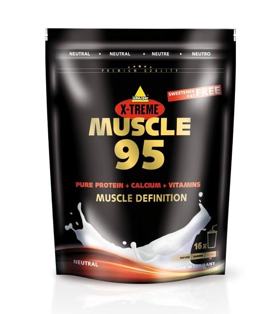 Inko X-treme Muscle 95 - Neutrales Protein 500g Beutel