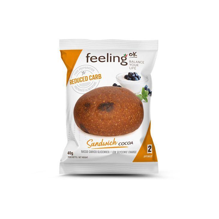 FeelingOK Brötchen Sandwich Kakao Optimize 2 40g