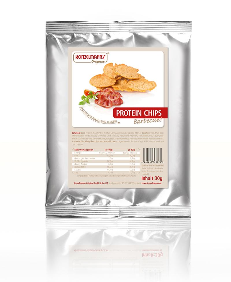 Konzelmanns Protein Chips BBQ Lower Carb