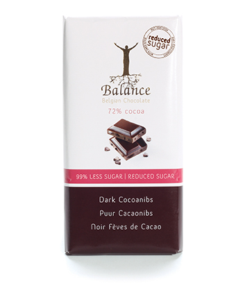 Zartbitter Schokolade Balance