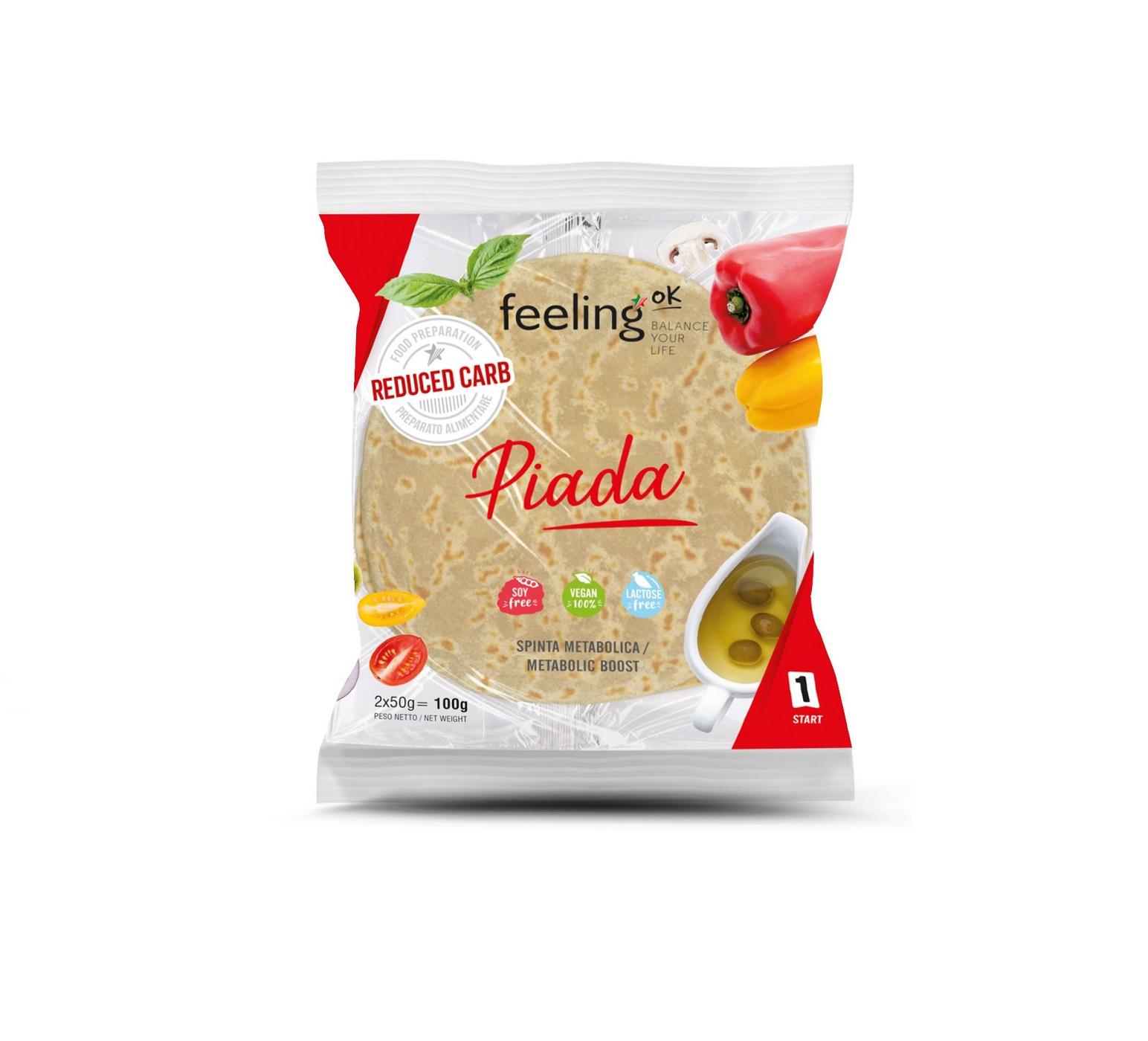 FeelingOK Protein Wrap Piadina Start 1 100g