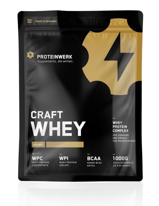 Proteinwerk Craft Whey - 1000g