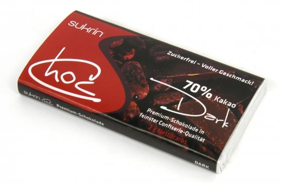 Sukrin Dunkle Schokolade zuckerfrei