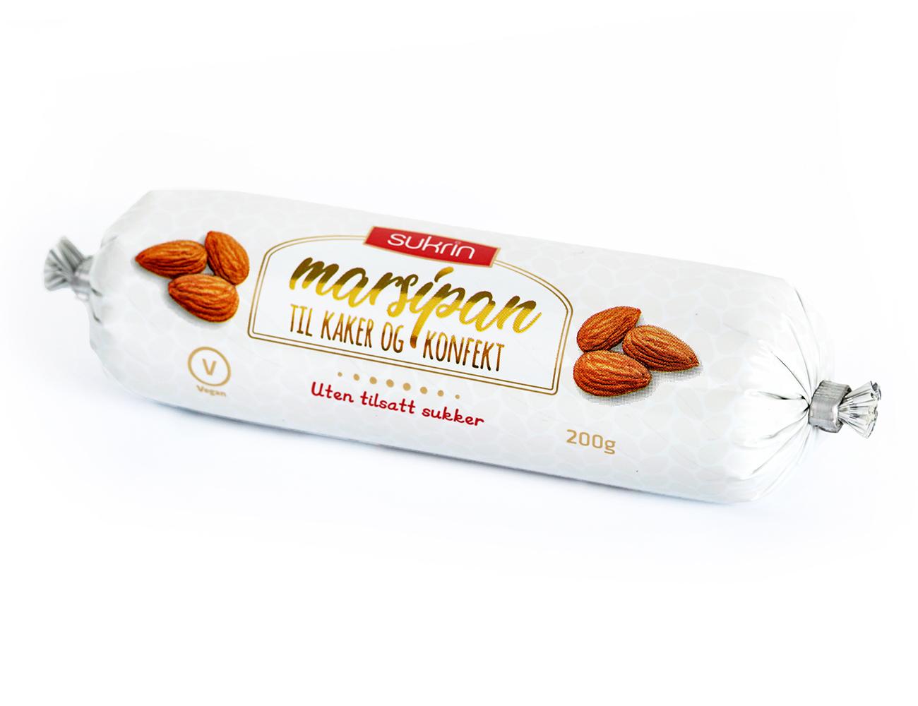Sukrin Marzipan ohne Zucker Zusatz