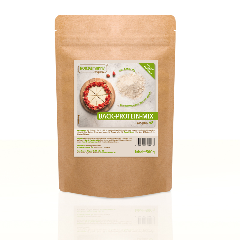 Back-Protein-Mix vegan 500g
