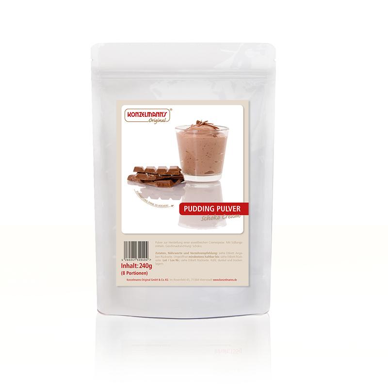 Konzelmanns Original Pudding Pulver Schoko Cream