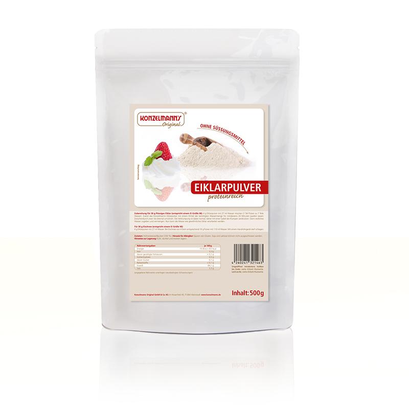 Konzelmanns Eiklarpulver Eggprotein neutral 500g