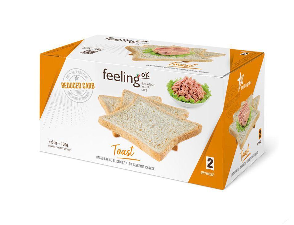 FeelingOK Toast Natur Optimize 2 160g