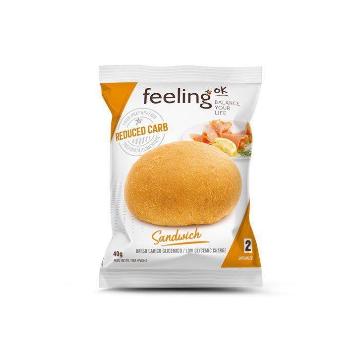 FeelingOK Brötchen Sandwich Optimize 2 40g