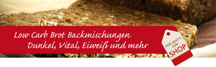 Low Carb Brot Backmischung