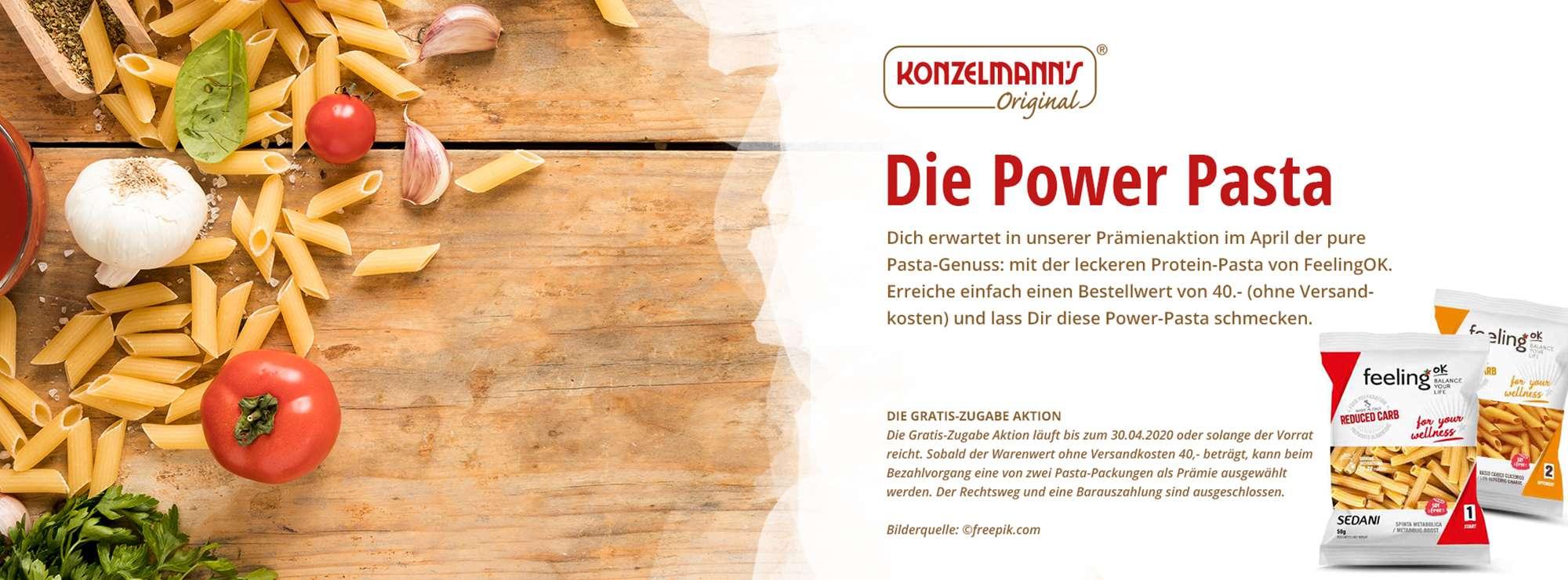 Power Protein Pasta Banner